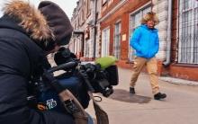 Джон Уоррен, ведущий передачи на НТВ «Поедем, поедим» в Бийске