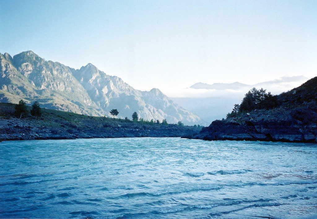 Уровень воды в реках Катунь и Бия за сутки серьезно вырос